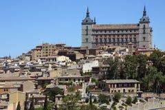 Alcazar - Toledo - Los Angeles Mancha Hiszpania - Obrazy Stock