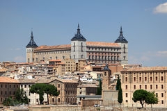 The Alcazar of Toledo, Spain Royalty Free Stock Photography
