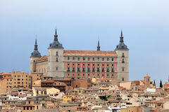 Alcazar of Toledo, Spain Royalty Free Stock Photography