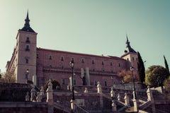 Alcazar of Toledo, Spain Royalty Free Stock Photos