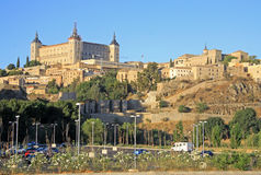 Alcazar in Toledo, Spain. Toledo, Spain. Old historical town at the Alcazar Stock Photography