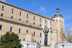 Alcazar of Toledo, Spain Stock Images