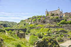 Alcazar of Toledo,spain Royalty Free Stock Photos