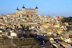 Alcazar, Toledo, Spanien Stockbilder