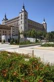 Alcazar - Toledo - Spanien Arkivfoto
