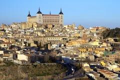 Alcazar, Toledo, Spanje Stock Afbeeldingen