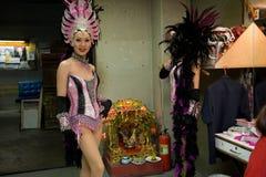 Alcazar transsexual cabaret in Thailand Stock Image