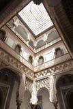 Alcazar verdadero de Sevilla del EL del en de Patio de las Munecas Imágenes de archivo libres de regalías