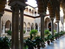 Alcazar verdadero en Sevilla Fotografía de archivo libre de regalías