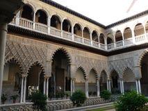 Alcazar verdadero en Sevilla Foto de archivo