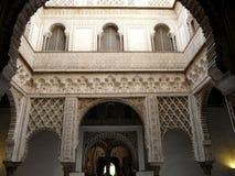 Alcazar verdadero en Sevilla Fotografía de archivo