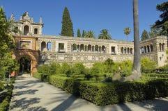 Alcazar verdadero Sevilla fotografía de archivo
