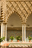 Alcazar verdadero, Sevilla, España Imagenes de archivo