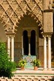 Alcazar verdadero, Sevilla, España imagen de archivo libre de regalías
