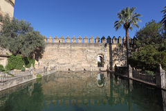 Alcazar von Cordoba, Spanien Stockfotografie