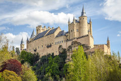 Alcazar von Segovia Stockfoto