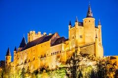 Alcazar von Segovia, Olivenölseife, Spanien Lizenzfreies Stockfoto