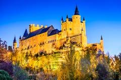 Alcazar von Segovia, Olivenölseife, Spanien Lizenzfreie Stockbilder