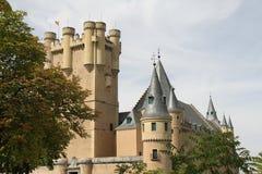 Alcazar von Segovia-Schloss Stockbild