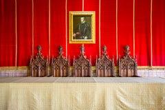 Alcazar von Segovia Segovia Stockbilder