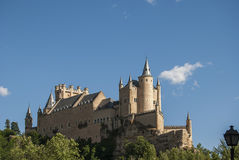 Alcazar von Segovia-Seite Lizenzfreie Stockfotos
