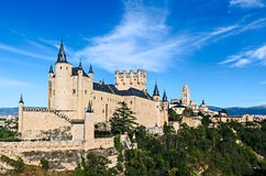Alcazar von Segovia, Spanien Lizenzfreie Stockbilder