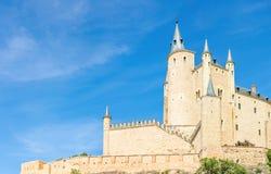 Alcazar von Segovia Spanien Lizenzfreie Stockfotos