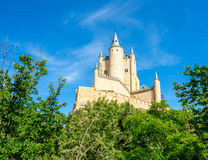 Alcazar von Segovia Spanien Lizenzfreies Stockfoto