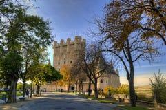 Alcazar von Segovia, Spanien Stockfoto