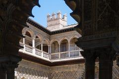 Alcazar von Sevilla Stockfotografie