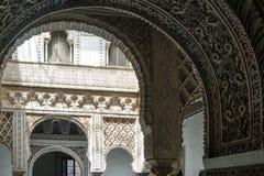 Alcazar von Sevilla Stockbilder