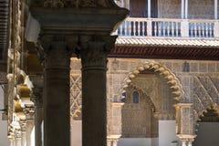 Alcazar von Sevilla Lizenzfreie Stockfotografie