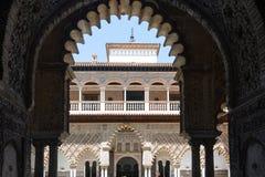 Alcazar von Sevilla Stockfotos