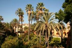 Alcazar von Sevilla. Stockbilder