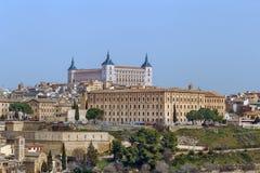 Alcazar von Toledo, Spanien Lizenzfreie Stockfotografie