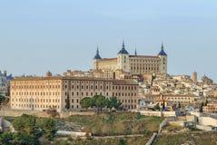 Alcazar von Toledo, Spanien Lizenzfreie Stockfotos