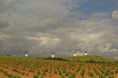 Alcazar windmill 02 Stock Image