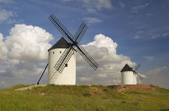 Alcazar windmill 16 Royalty Free Stock Photo