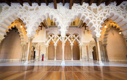 Alcazar of Zaragoza Spain Royalty Free Stock Image