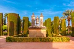Alcazarde los Reyes Cristianos, Cordoba, Spanien Stockfotos