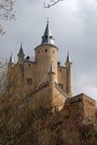 Alcazarde Segovia Stockbild