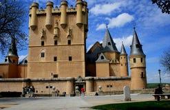 Alcazarde Segovia Stockfotografie