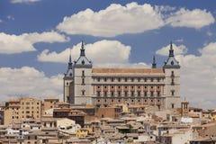 Alcazaren i Toledo, Spanien Fotografering för Bildbyråer