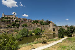 Alcazaren i Toledo, Spanien Royaltyfri Bild