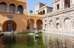 Alcazars of Seville Stock Photo