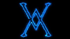 Alchemia symbol zbiory wideo