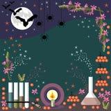 Alchemii rama dla Halloween Zdjęcie Royalty Free