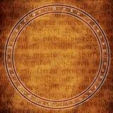 Alchemii tło Zdjęcia Royalty Free