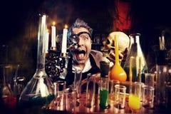 alchemik Zdjęcie Stock