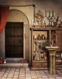 Alchemist's study Royalty Free Stock Image